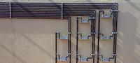Tuberías de instalaciones de gas